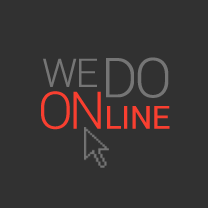 We do online